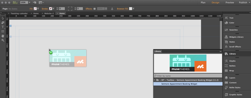 The Adobe Muse Editor
