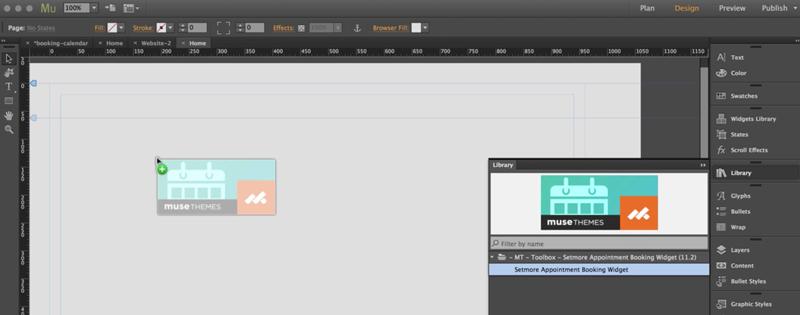 The Adobe Muse Editor